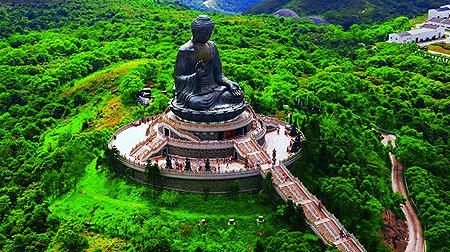 Tiantan Buddha on Lantau Island